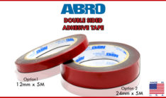 ozeauto-abro-double-sided-adhesive-tape grey-red